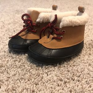 Baby duck boots